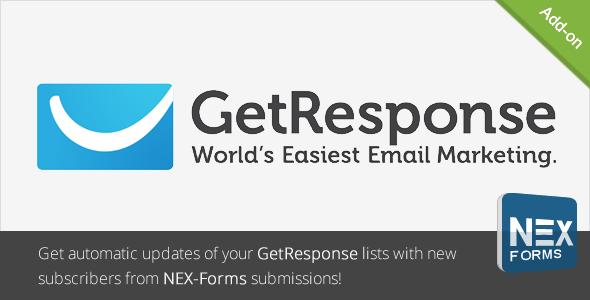 GetResponse für NEX-Formulare - CodeCanyon Artikel zum Verkauf