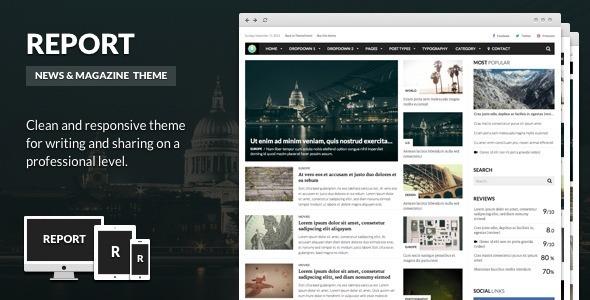 Bericht - News & Magazine Thema für WordPress