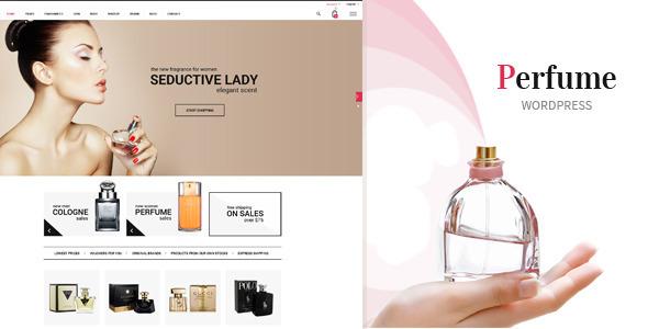 Parfüm - WooCommerce WordPress Template