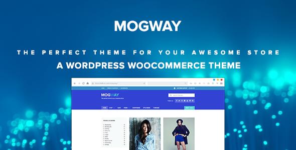 Mogway - Responsives eCommerce WordPress Template