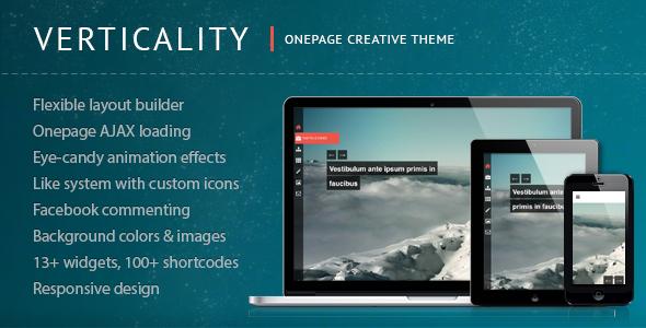 Vertikalität - Onepage-Fotografie-Thema