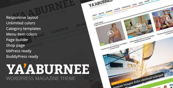 Ya'aburnee - Magazin & E-Commerce Thema