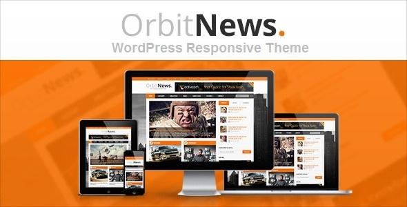 Orbit News - WordPress Responsives Magazin Thema