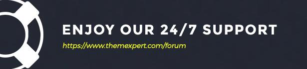 ThemeXpert-Unterstützung