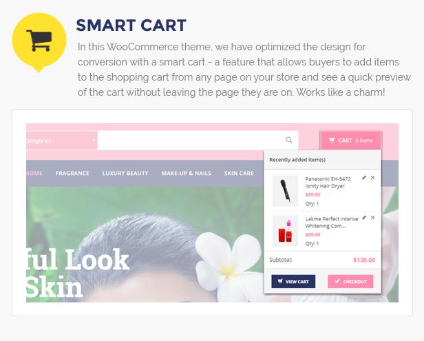 Beauty Store WordPress Thema