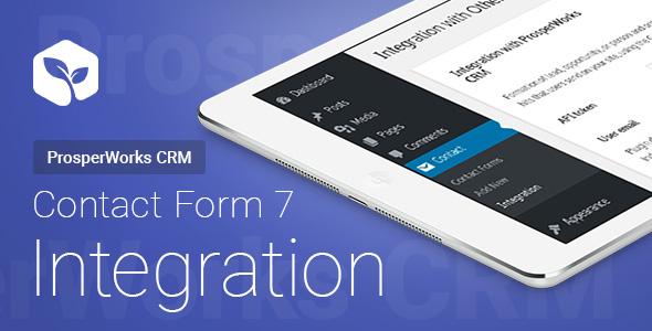 Kontaktformular 7 - ProsperWorks CRM - Integration