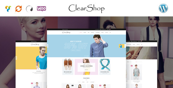 Clear Shop - Wunderbare Responsive WooCommerce Layout