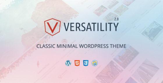 Vielseitigkeit - Creative Minimal WordPress Layout