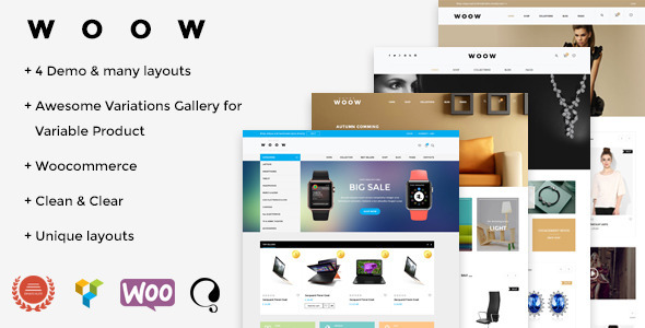 WOW - Responsives WooCommerce Layout