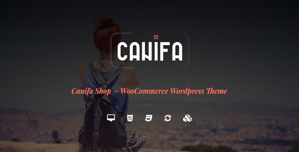 Canifa - Das Mode WooCommerce WordPress Vorlage