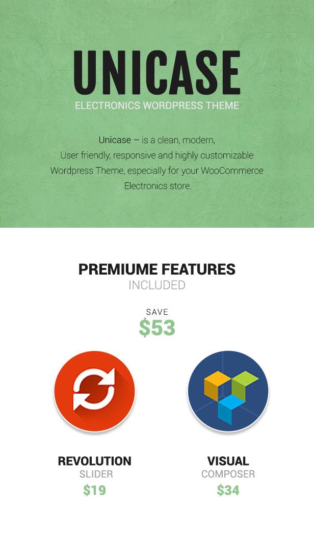 Unicase - Elektronikladen WooCommerce Template
