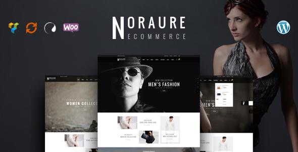 Noraure - WooCommerce Responsives WordPress Template