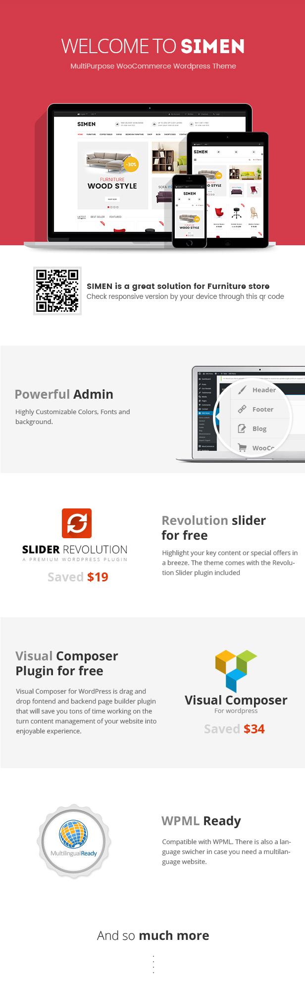 Simen - MultiPurpose WooCommerce WordPress Vorlage