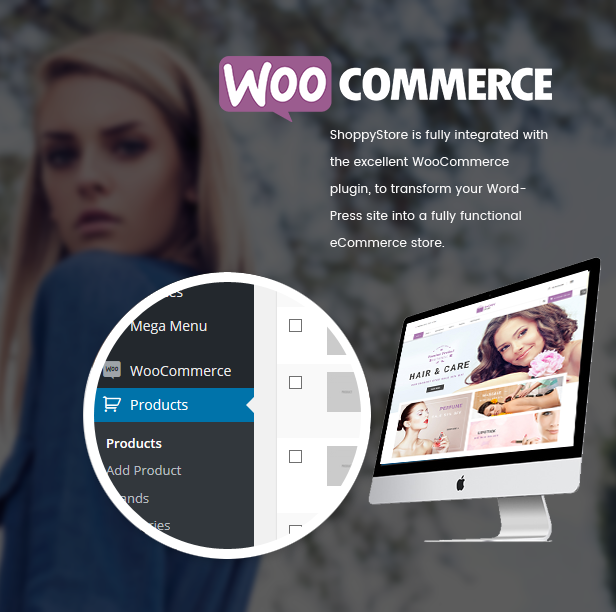 Responsive Technologie WooCommerce WordPress Template - Woocommerce