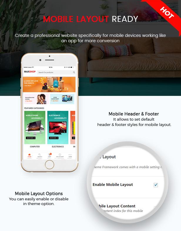 SW MaxShop - WooCommerce Layout