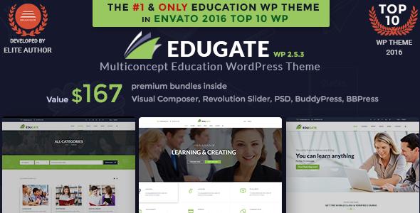 Bildung WordPress Theme | Bildung WP Edugate