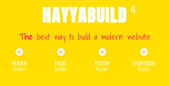 HayyaBuild – WordPress Builder