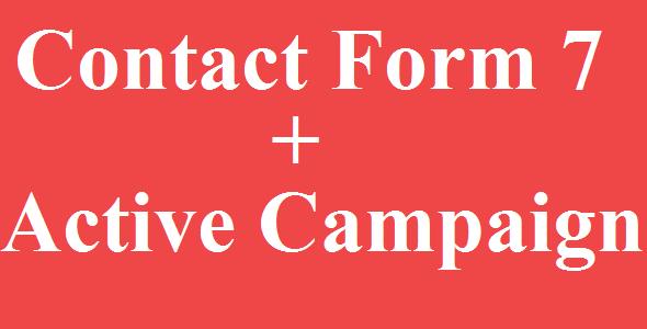 Kontaktformular 7 Aktive Kampagnenintegration