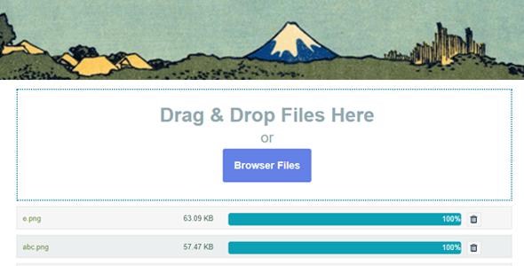 Kontaktformular 7 Ziehen und Ablegen von Dateien Upload - Upload mehrerer Dateien