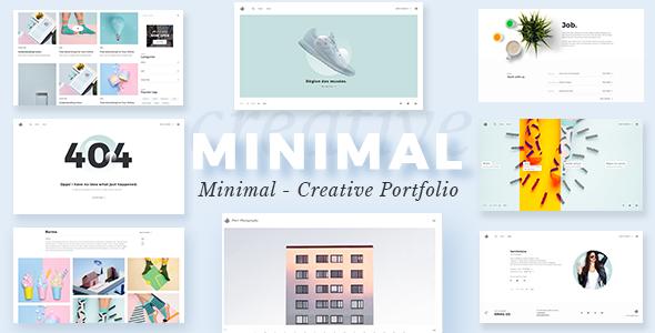 Minimalist - Portfolio WordPress Theme