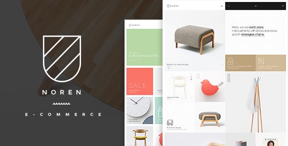 Noren- Shop WordPress WooCommerce Template