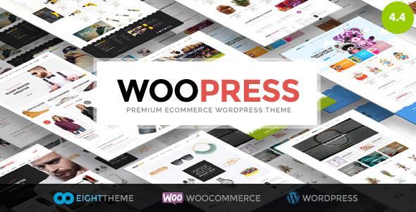 WooPress - Responsives Ecommerce WordPress Template
