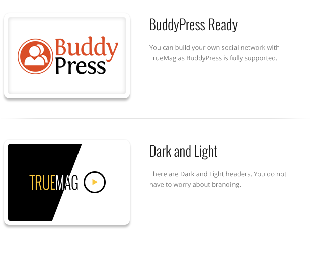 True Mag - WordPress Vorlage für Video und Magazine