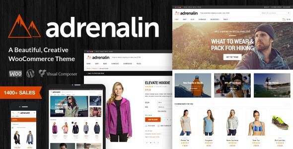 Adrenalin - Mehrzweck WooCommerce Template