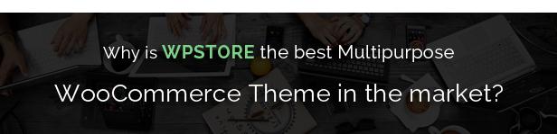 WpStore - Ein Responsive Woocommerce-Multipurpose-Vorlage