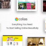 Ri Colias - Responsives WooCommerce Vorlage