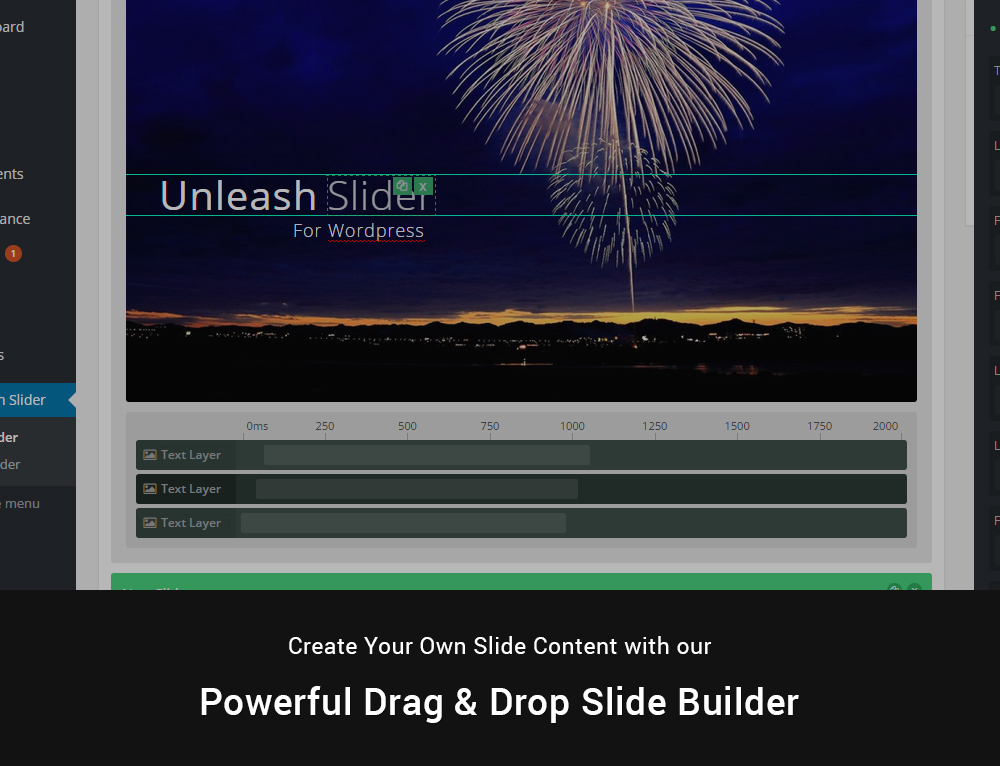 Unleash - Ein WordPress Responsive Akkordeon Slider