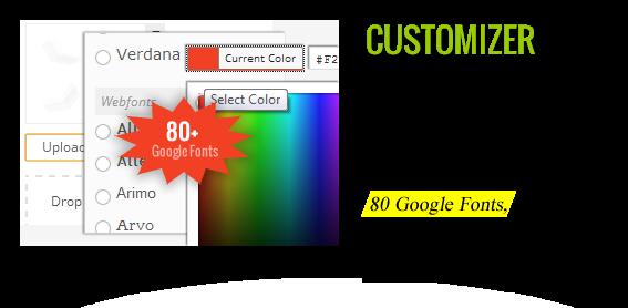 "Customizer - Maginess - Flexibles Magazin WordPress Template ""title ="" Customizer - Maginess - Flexibles Magazin WordPress Template"
