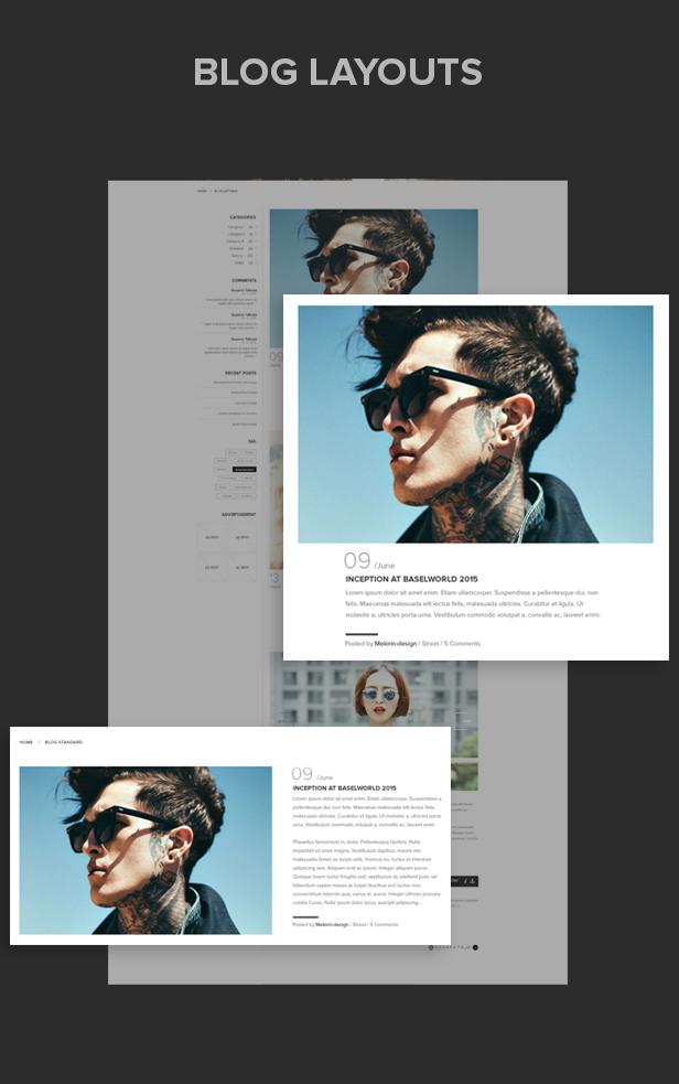 Mandala - Responsives Ecommerce WordPress Vorlage