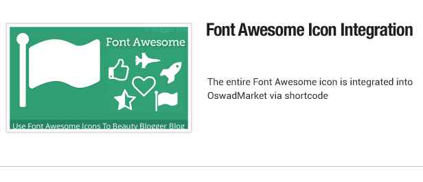 Schrift Awesome