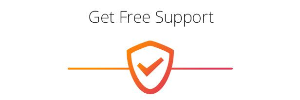 Erhalten Sie kostenlosen Support