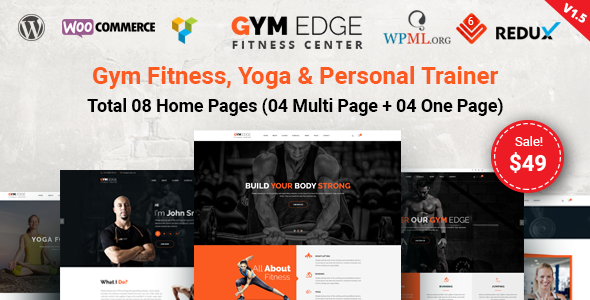 Fitness-Fitness WordPress-Thema