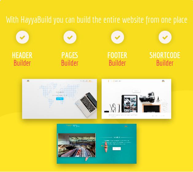 HayyaBuild bauen Website
