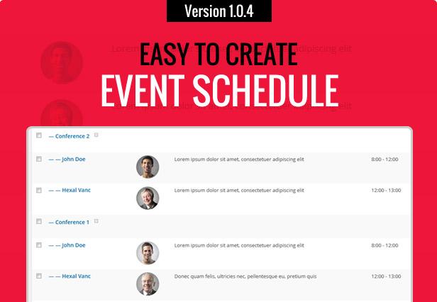 iEvent - Veranstaltung & Konferenz WordPress Layout