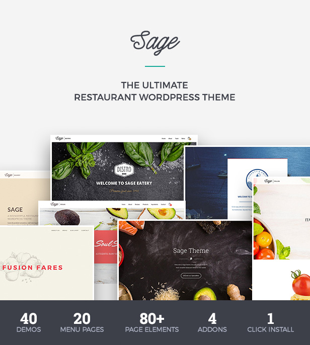 Premium Restaurant WordPress Vorlage