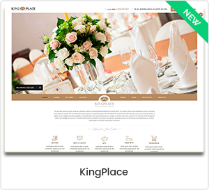 KingPlace - Hotel, Spa & Resort Buchung WordPress Template