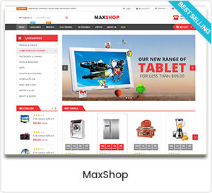 MaxShop - Mehrzweck WooCommerce WordPress Template