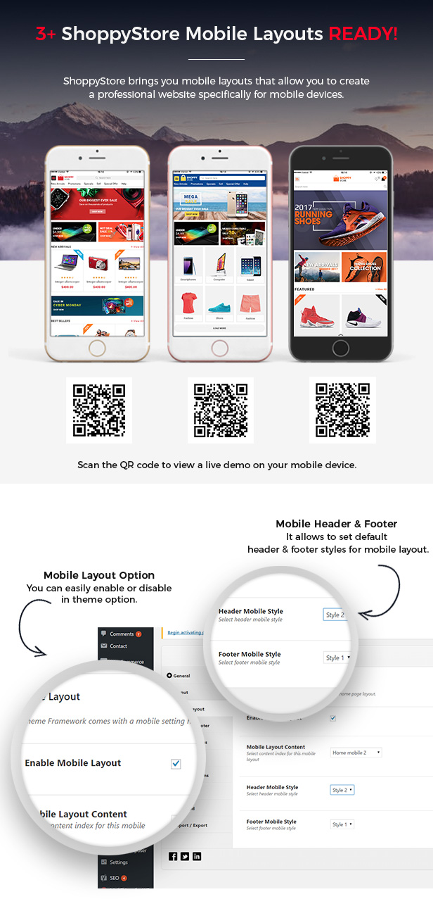 ShoppyStore - Mehrzweck-Responsive WooCommerce Template (15+ Homepages & 3 Mobile Layouts inklusive)