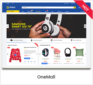 OneMall - Mehrzweck eCommerce & MarketPlace WordPress Template
