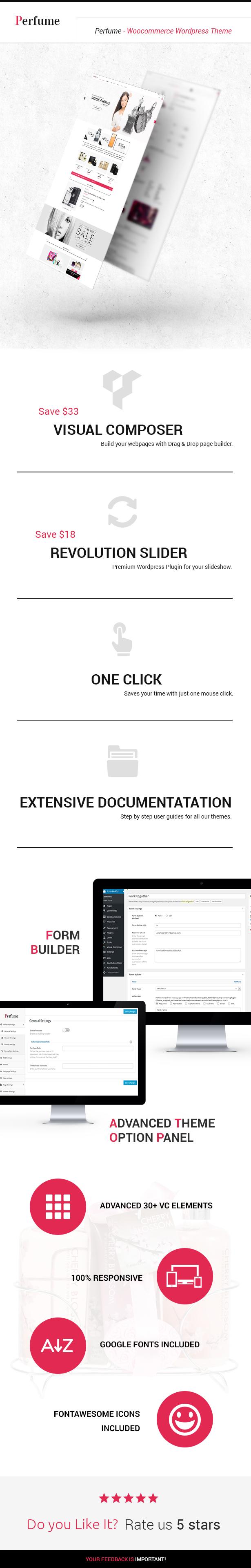 Perfuem Woocommerce WordPress Template