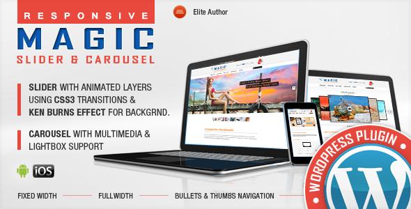 Magic Responsive Slider und Karussell WordPress Plugin
