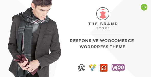 Die Marke - Responsive WooCommerce WordPress Vorlage