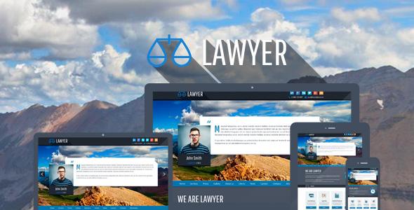 Anwalt - Bootstrap Responsive WP Vorlage
