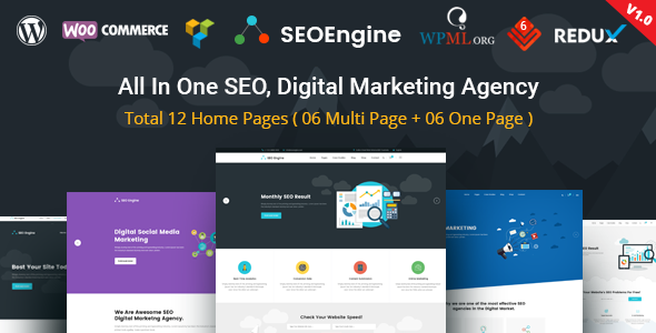 SEO Unternehmen WordPress Theme