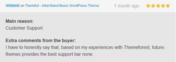 TheArtist - Künstler Band Musik WordPress Vorlage