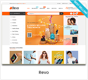 Revo - Mehrzweck WordPress Template